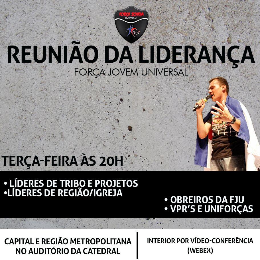 Reunião da Liderança #FJUParaná