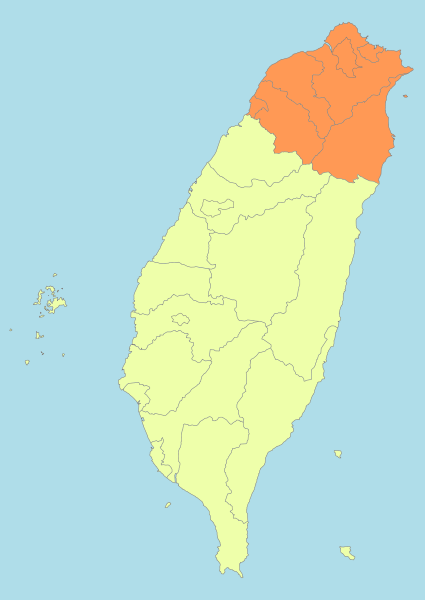 Northern Taiwan: Taipei, Taoyuan, Hsinchu, Yilan | Maps ...