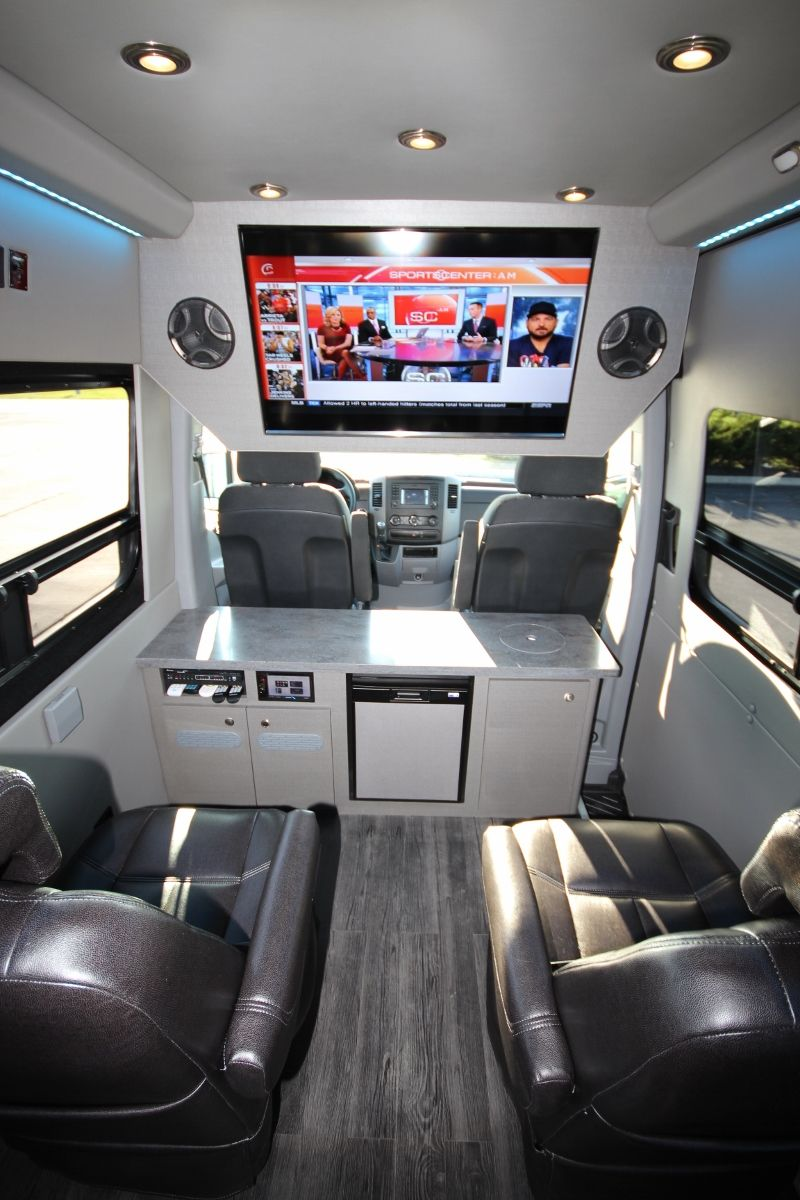 Nissan Nv 3500 For Sale >> Executive Seated Entertainment Sprinter | Camper | Fourgon ...