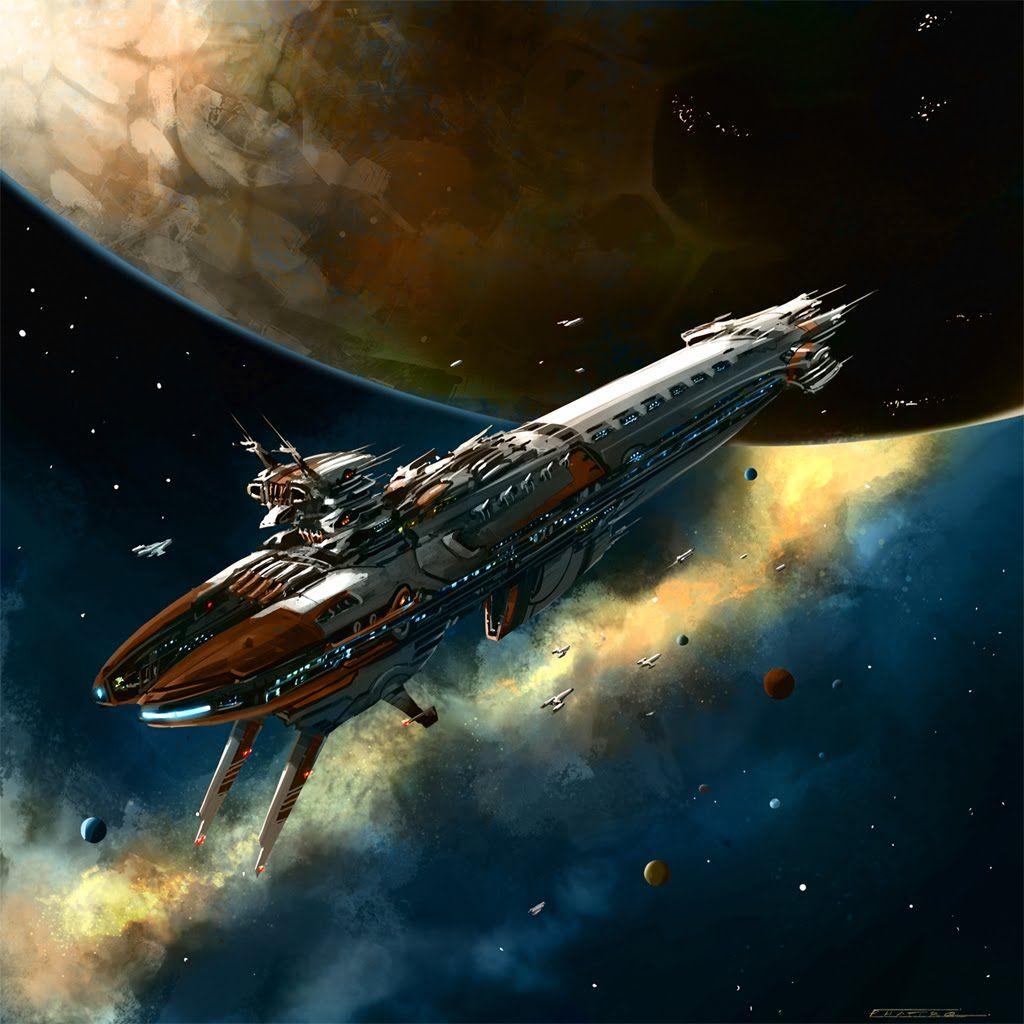Megapost Arte Futurista Y Naves Espaciales Parte I