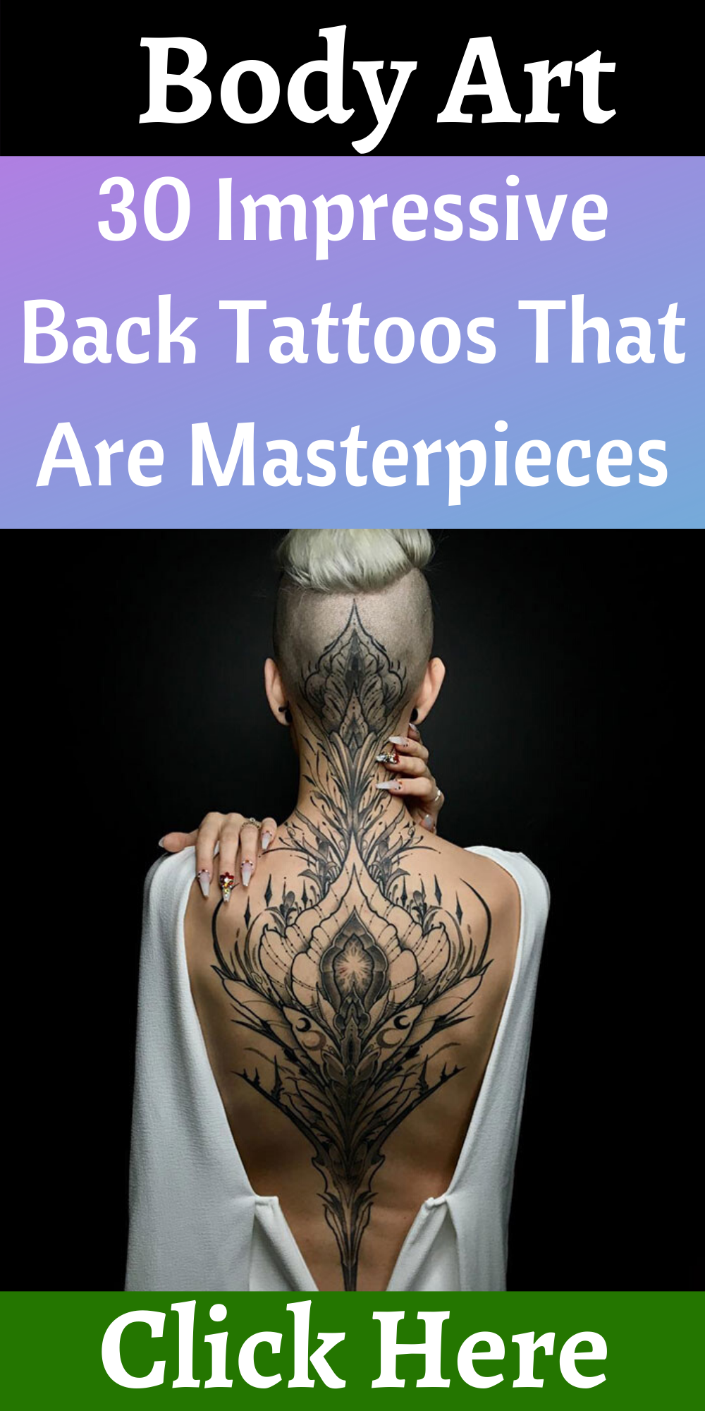 30 Impressive Back Tattoos That Are Masterpieces | Back