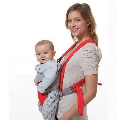 Infant Baby Carrier Adjustable Wrap Sling Newborn Breathable  Backpack Ergonomic