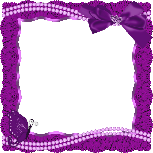 transparent frames transparent frame with butterfly ribbon and pearls