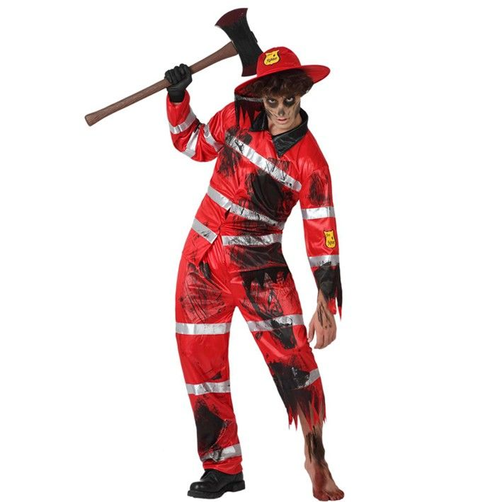 Disfraz de bombero zombie #disfraces #halloween Halloween Pinterest - zombie halloween ideas