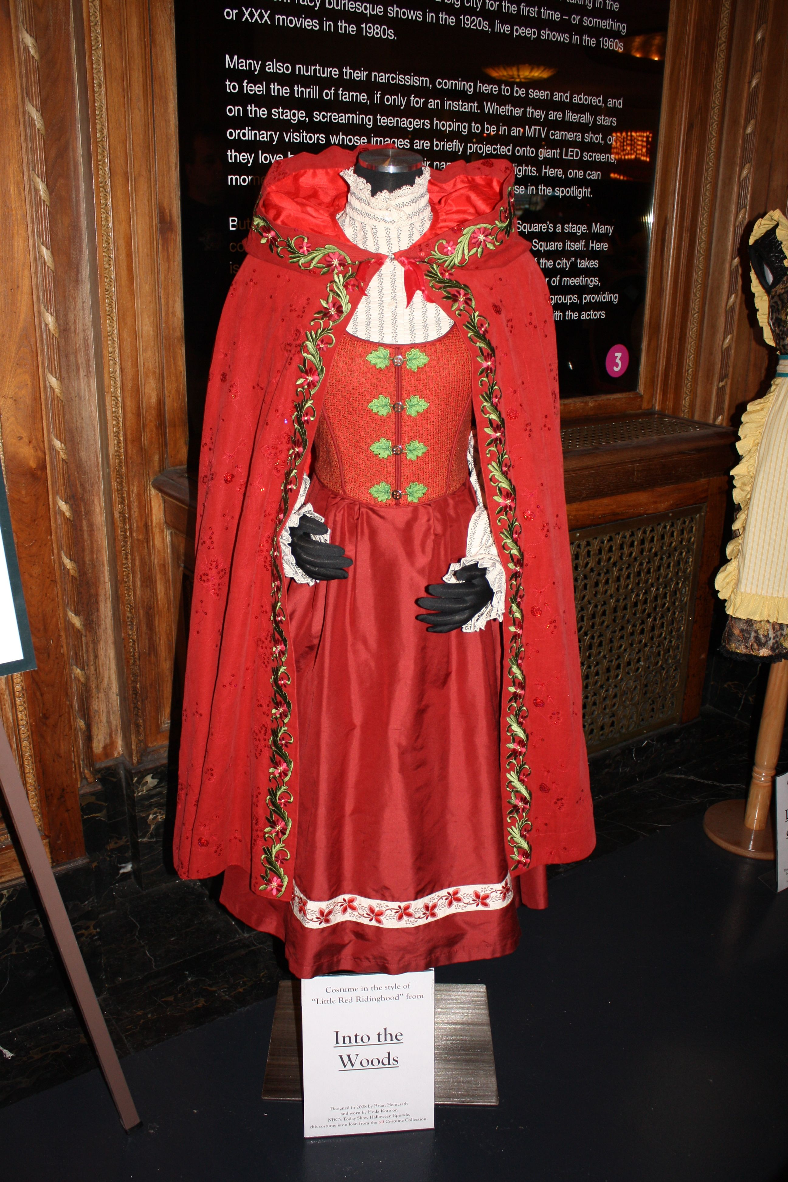 This Is Little Red Riding Hood S Costume From Into The Woods We