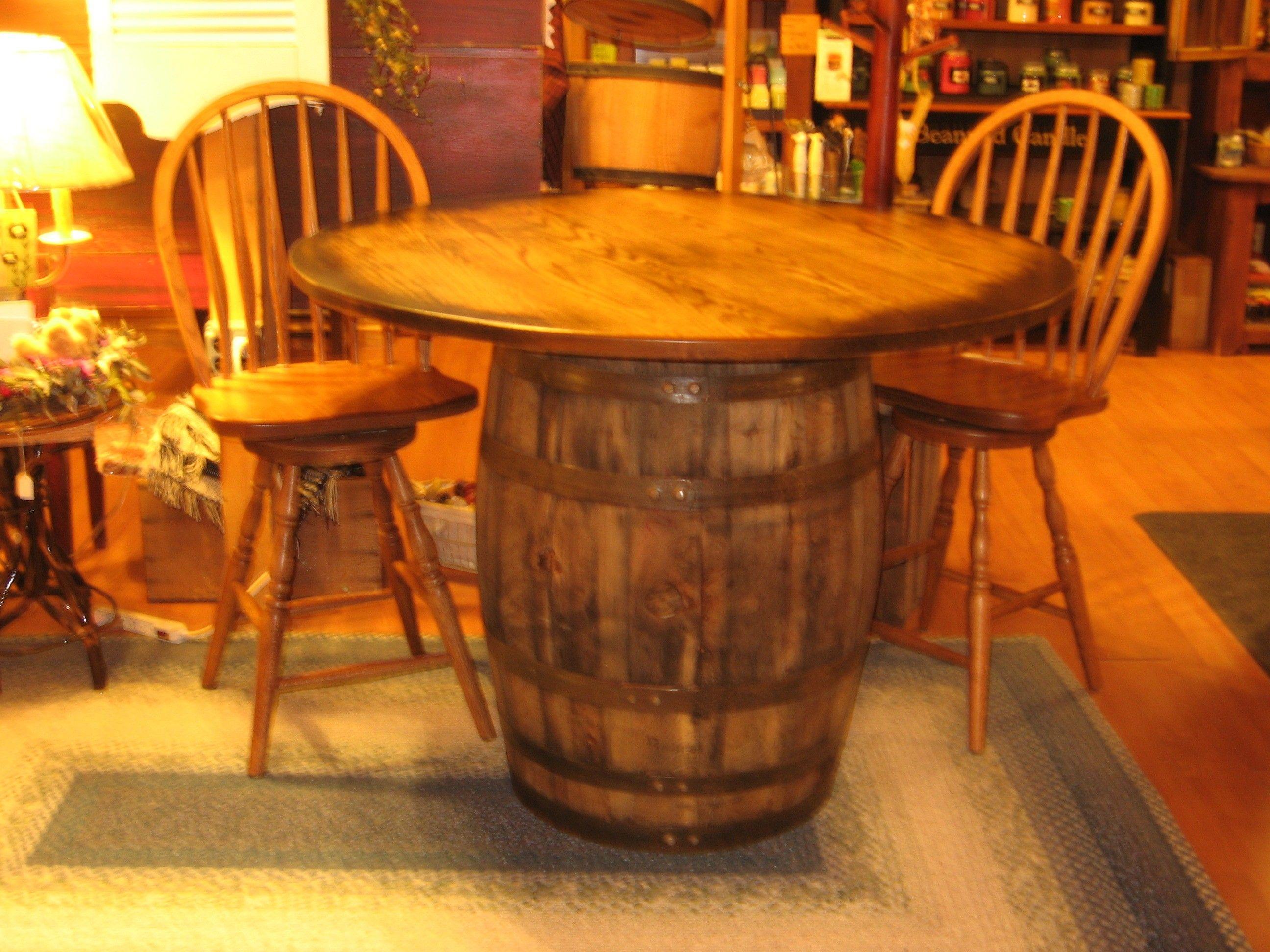Wine Barrel Desk