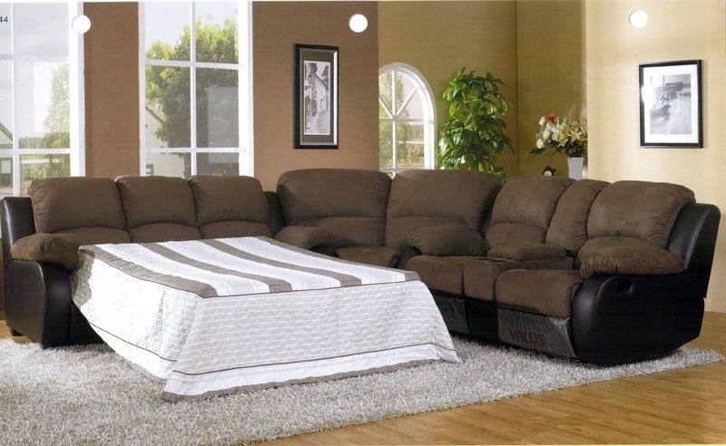 Simple Guide On Sectional Sleeper Sofa With Recliners Yonohomedesign Com Sectional Sleeper Sofa Sofa Layout Sectional Sofa With Recliner