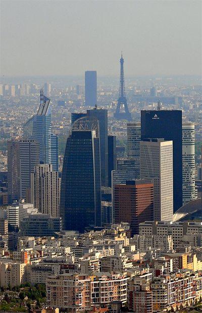 La Defense La Defense Paris Paysage Urbain La Defense