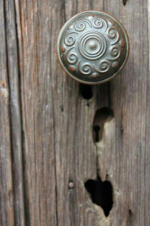 Old doorknob in downtown Prattville, AL... photo by me
