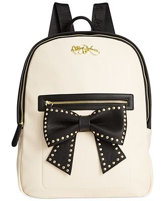 Betsey Johnson Backpack - All Handbags - Handbags   Accessories - Macy s df39cb0acd644