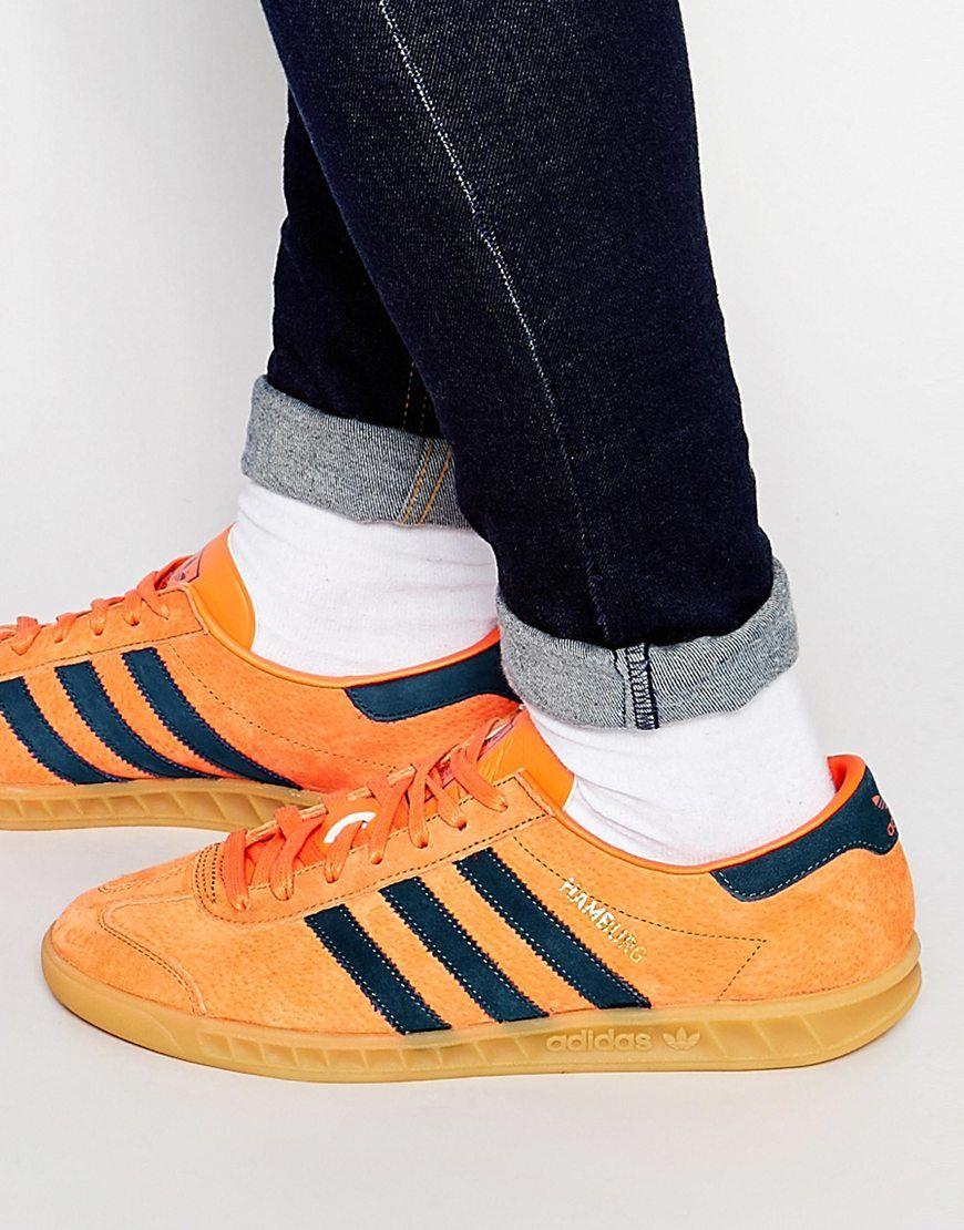 adidas Originals Hamburg Trainers S74837 at asos.com | Adidas ...