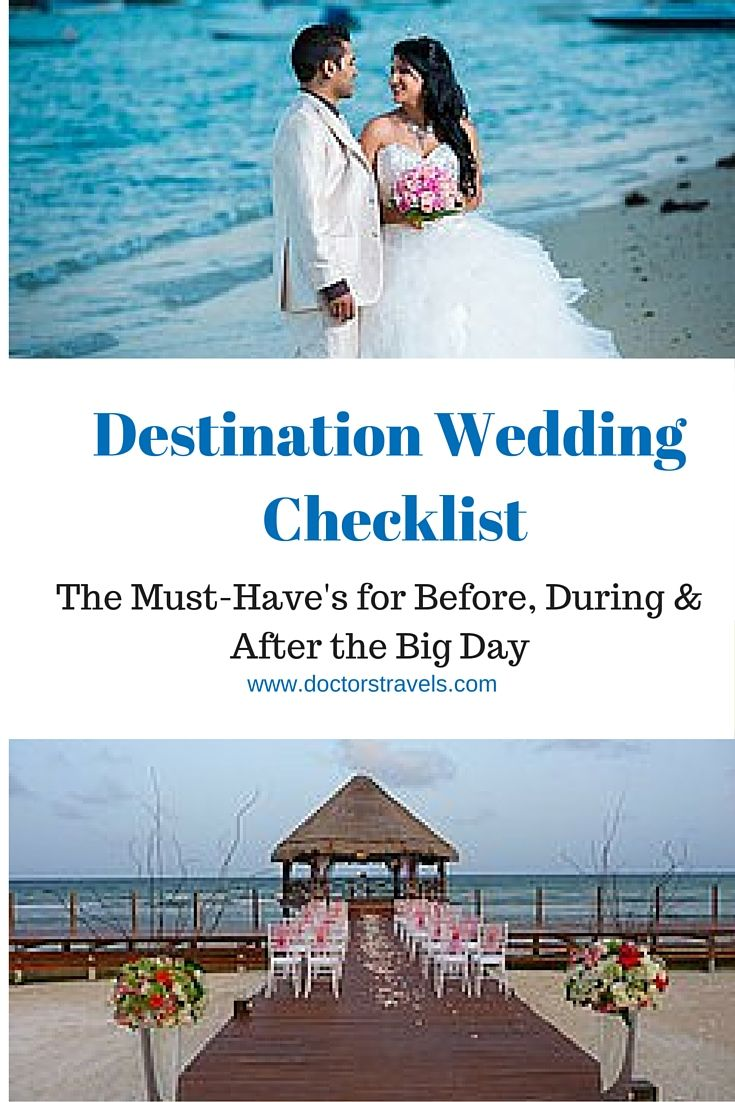 Destination Wedding Planning Checklist You Want To Make Sure Cover Everything And This List
