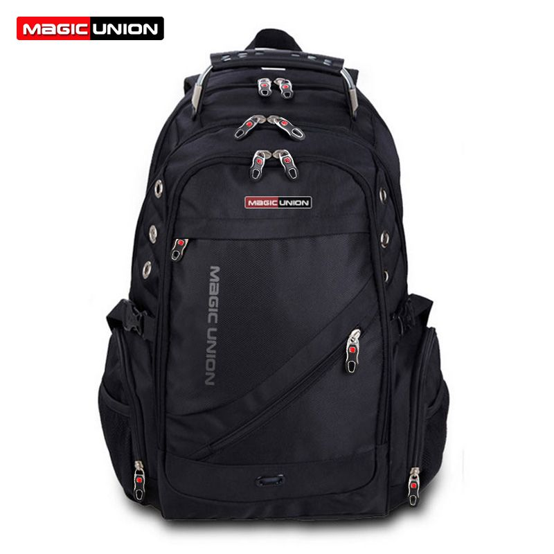 MAGIC UNION Brand Design Men's Travel Bag Man Backpack Polyester ...