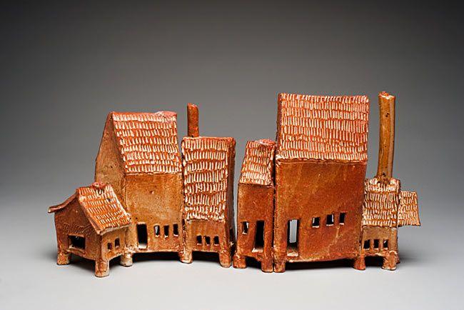 Ceramics Buildings Ceramic Houses Pottery Houses Small House
