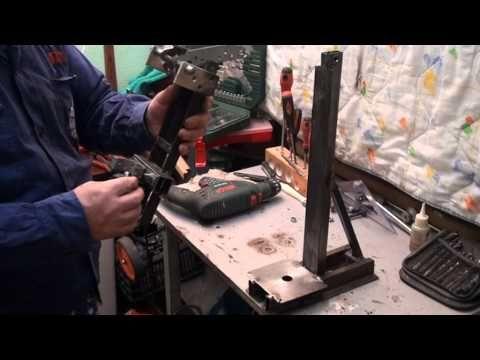 Soporte de taladro casero parte 2 youtube torno y - Como hacer soporte para cuchillos ...