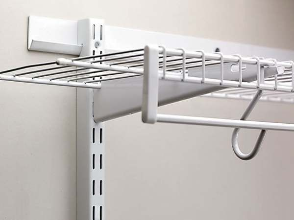 wire shelving curtain attachments - Bing images | Things to build ...