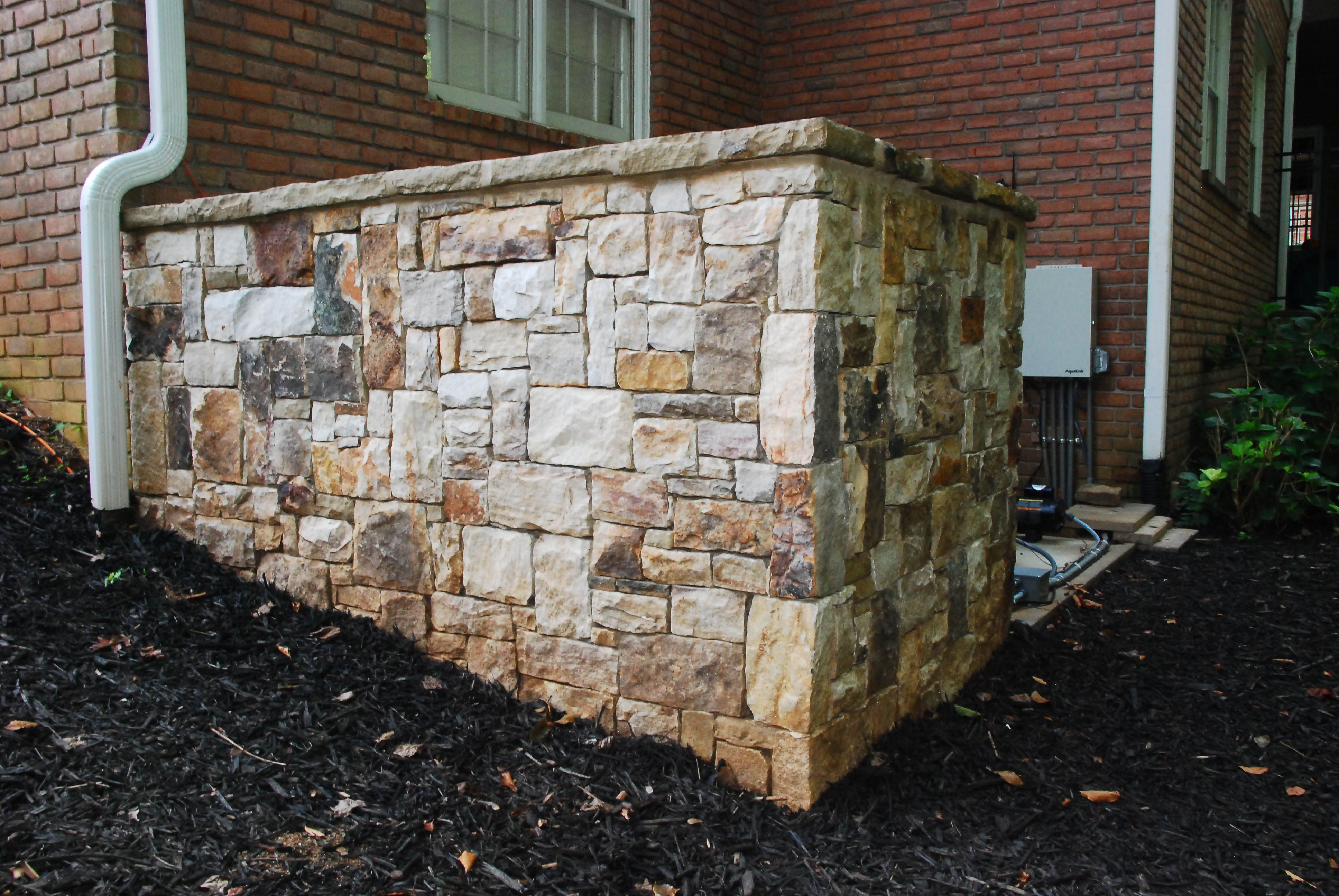 Peach State Pool Builders Will Build You A Stone Wall To