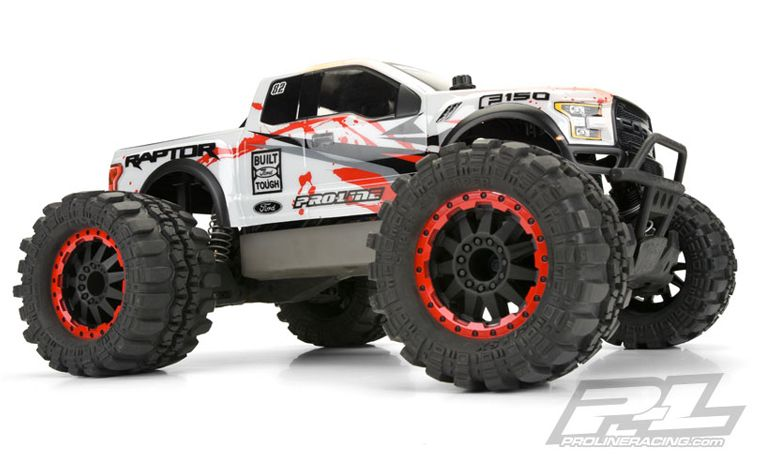 Pro Line Releases Two Ford F Raptor Monster Truck Bodies