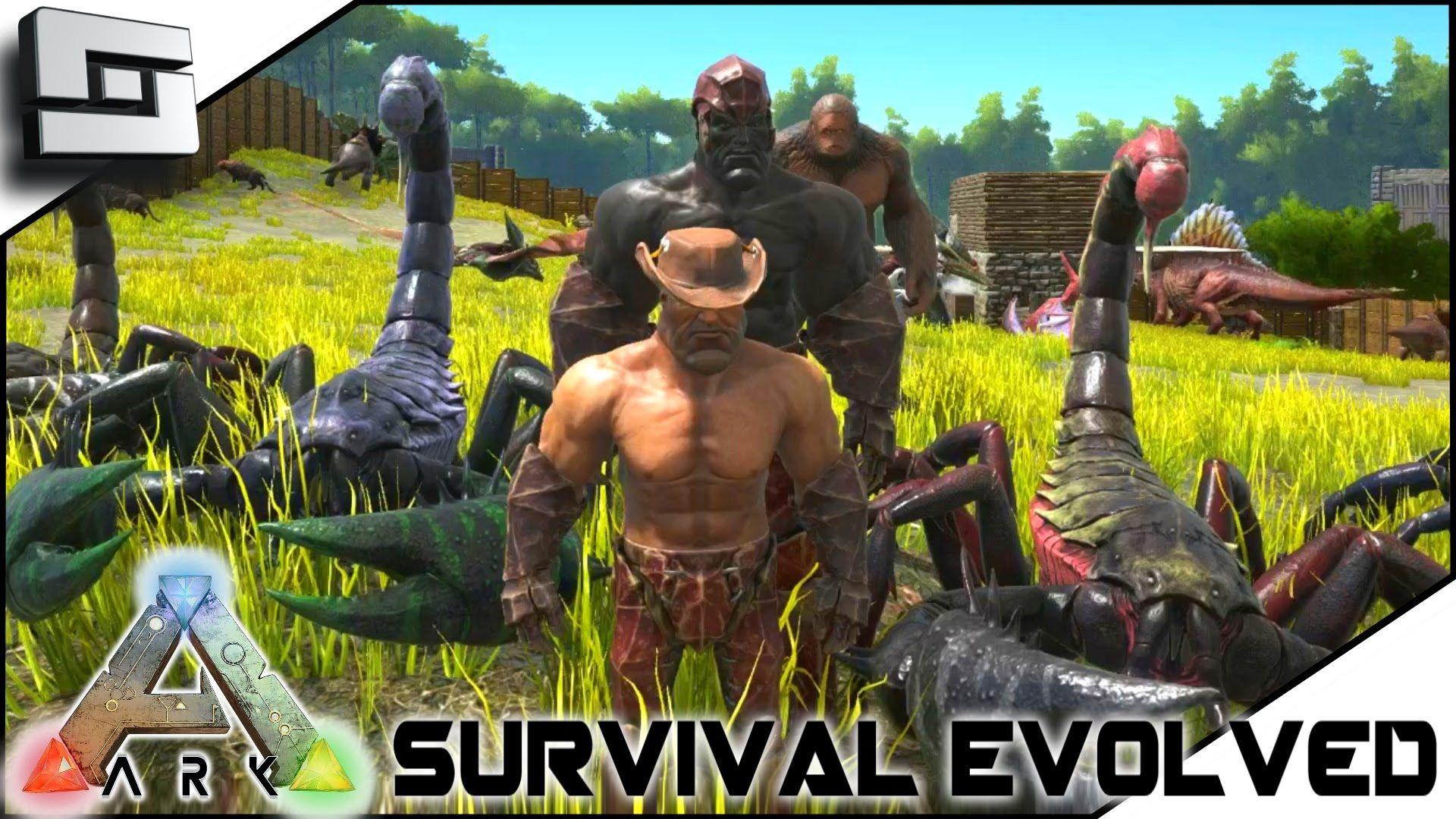 Ark Survival Evolved Taming Scorpions W Keralis S2e9