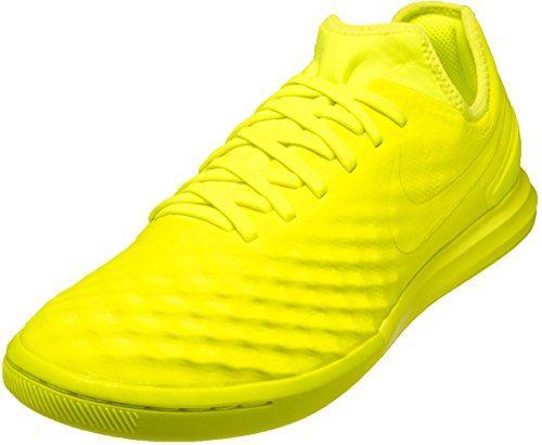 Nike Mens MagistaX Finale IN Indoor Soccer Shoe Sz 8 Volt >>> Details can