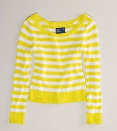 yellow and white striped sweater - Google Search | My wardrobe ...