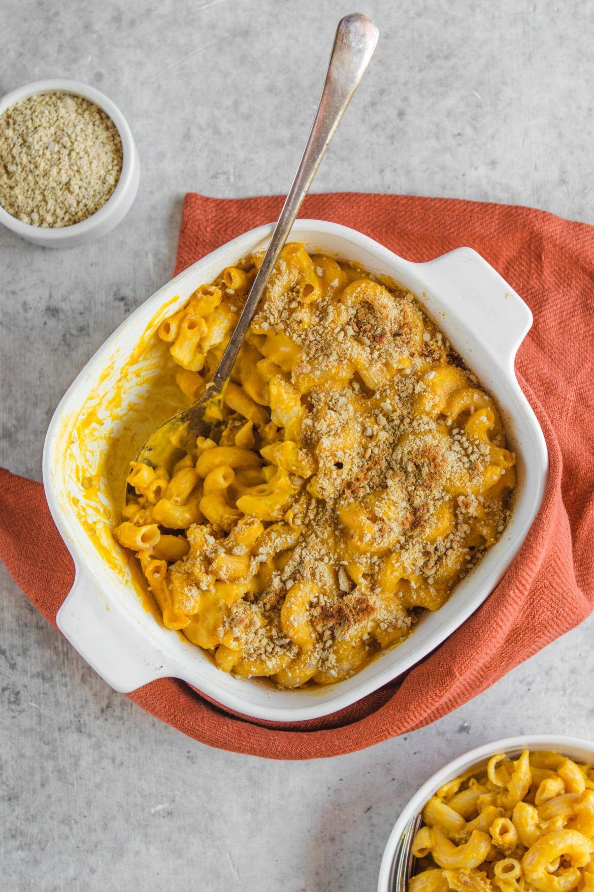Baked Vegan Mac And Cheese Gluten Free Nut Free Recipe
