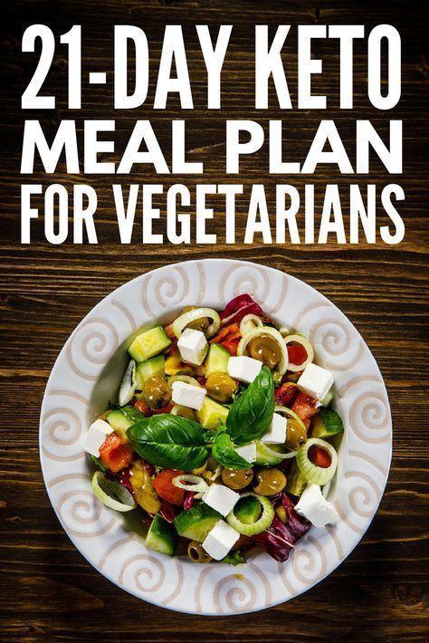 Keto-Diät für Vegetarier: Einfaches 21-tägiges vegetarisches Keto-Menü - Rezepte #ketomealplan