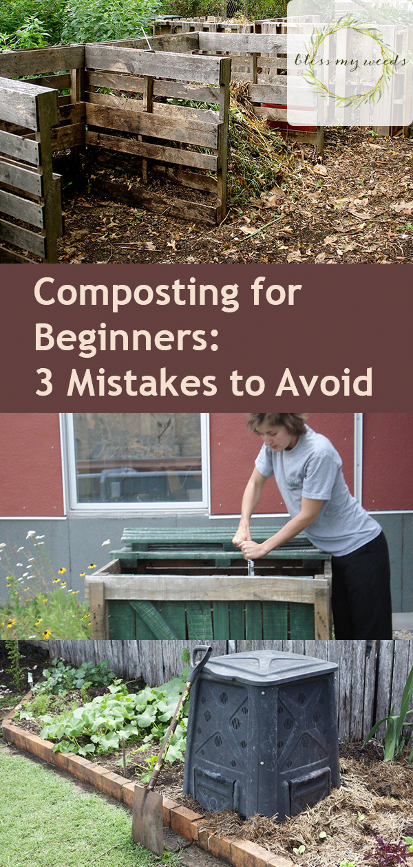 Composting for Beginners: 3 Mistakes to Avoid