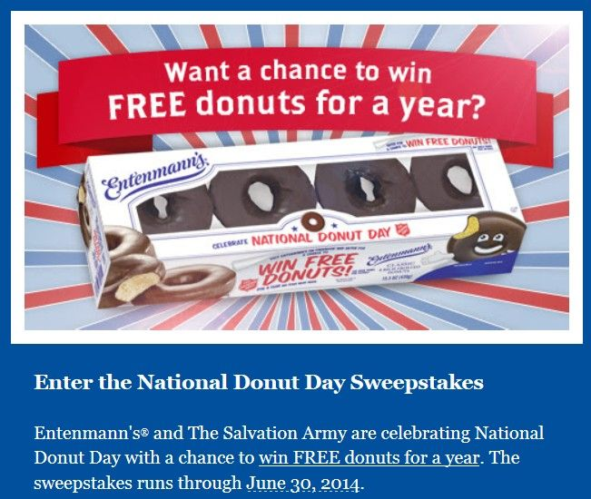 The 2014 Entenmann S National Donut Day Sweepstakes Grand Prize