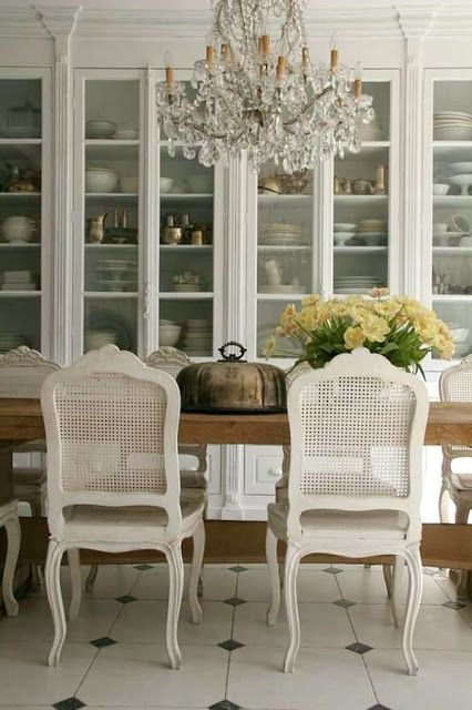 Decorating With French Provincial White Cane Furniture Painted