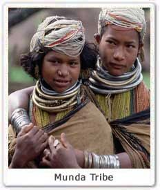 d0a2bad27b Munda Tribe in their traditional clothes from Jharkhand State. Source:  http://