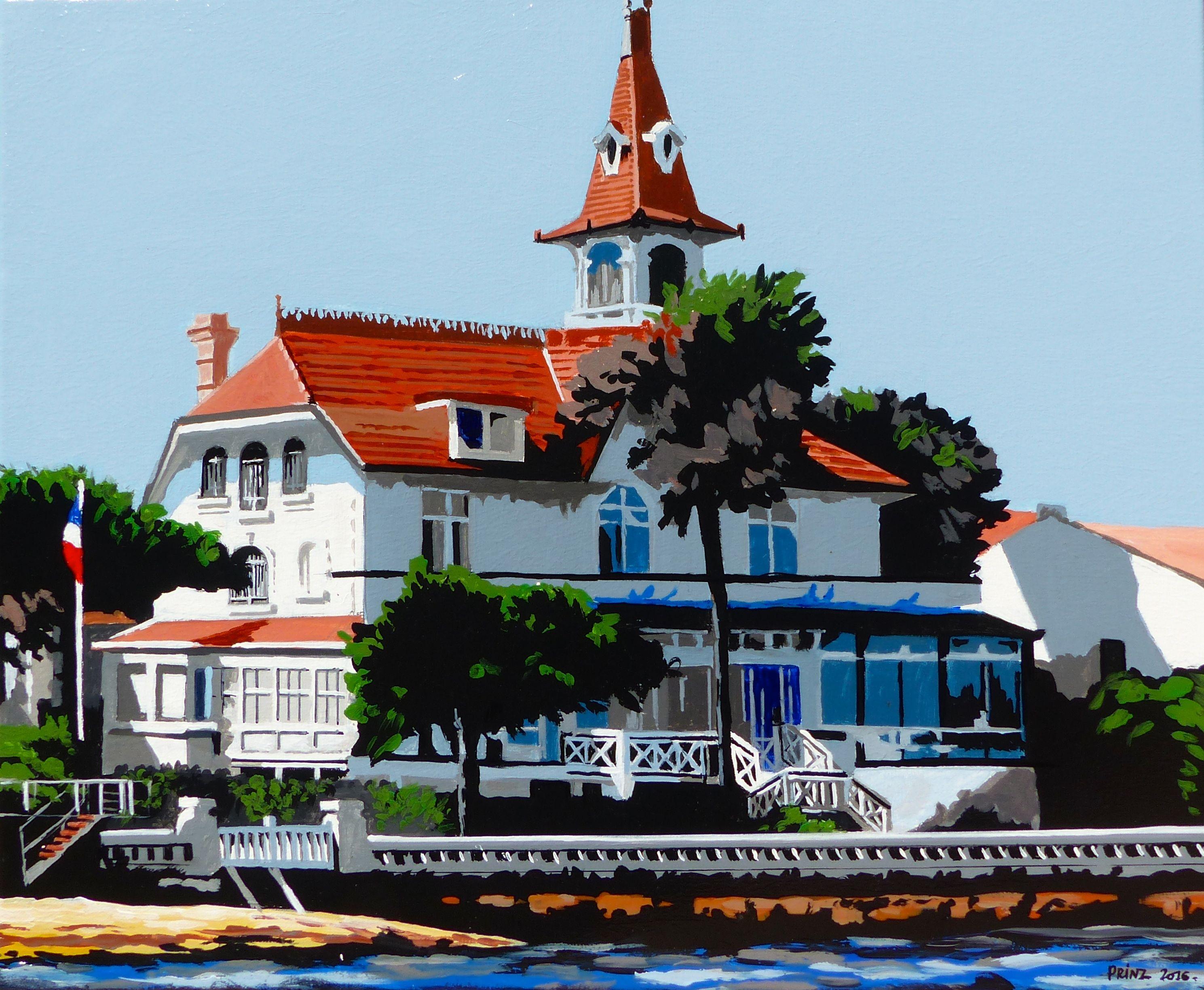 Villa Saint Yves Arcachon Mes peintures  Arcachon