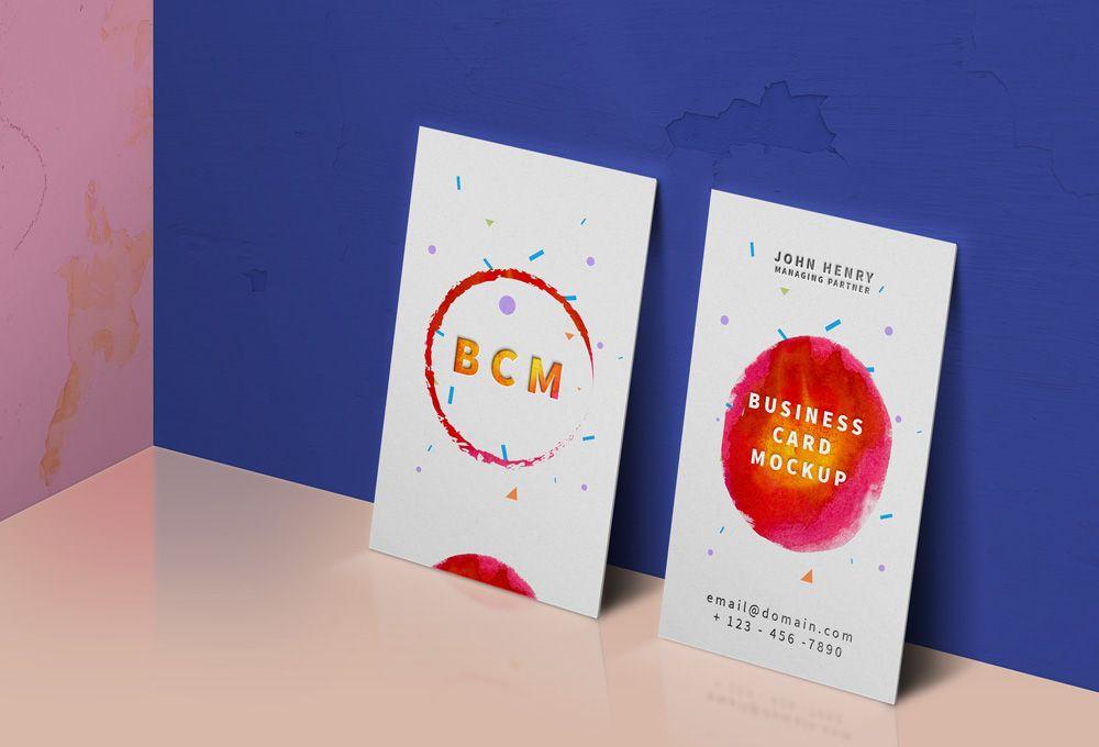 Business card mockup psd free mockpus pinterest mockup business card mockup psd vertical colourmoves