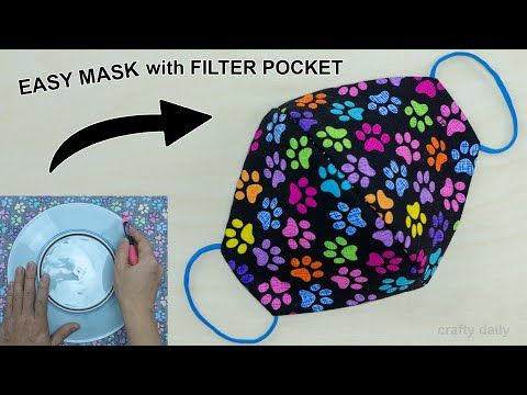 Photo of How to Make a Face Mask at Home Easy | DIY Face Mask No Sewing Machine