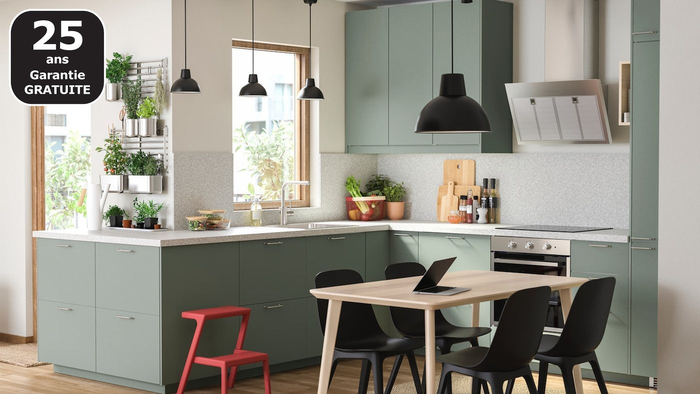 Prix Cuisine Aménagée Ikea ikea bodarp küche in 2020 (mit bildern) | küchen möbel, ikea