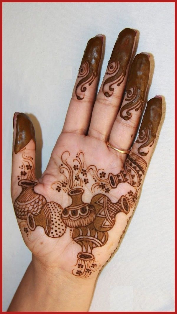 Simple and easy indian mehndi designs for hands so pretty palm design also mendhi rh co pinterest