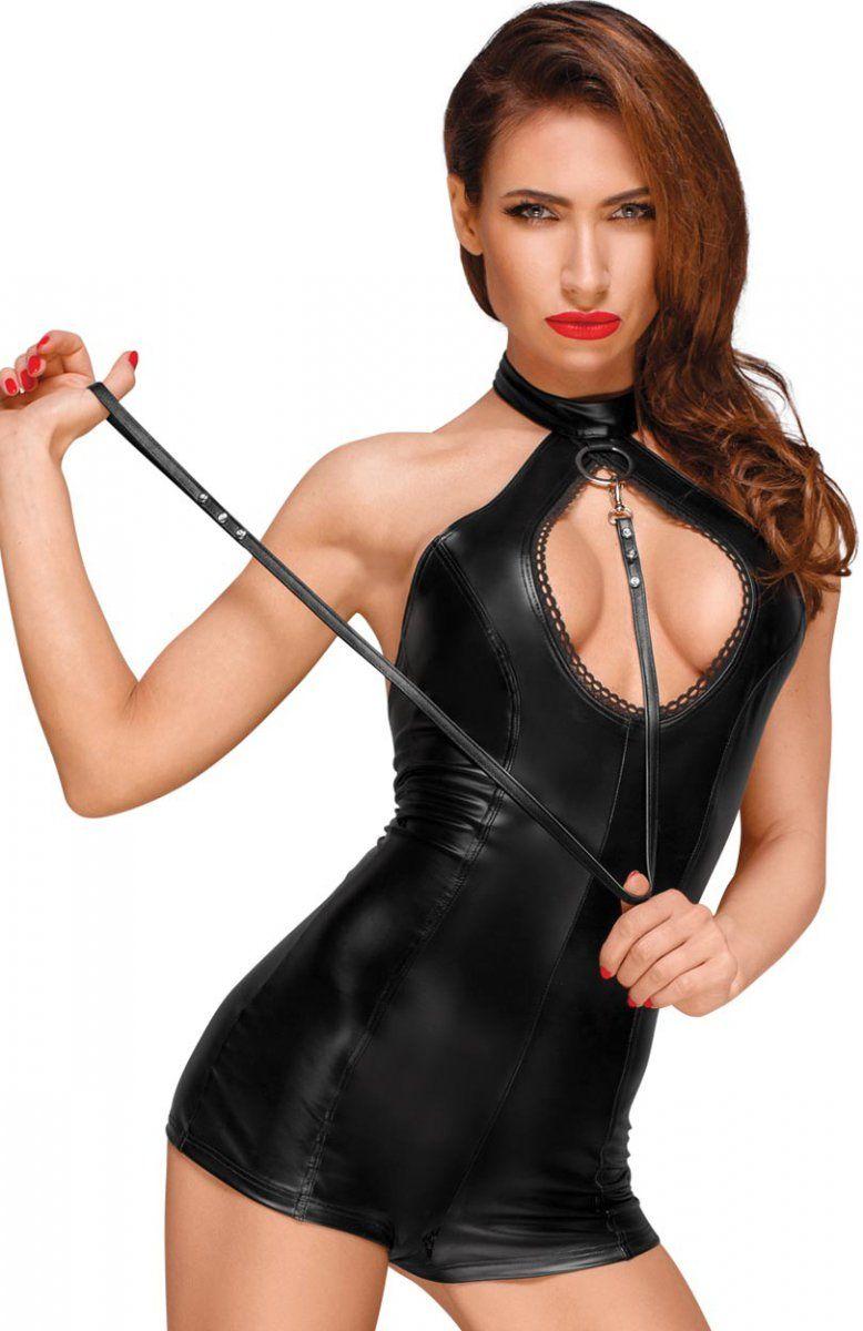 36484ecf077a5e Noir 2641879 body Niesamowicie seksowne body wykonane z elastycznej tkaniny  typu wetlook, fason doskonale dopasowuje się do sylwetki, z przodu  wycięcie, ...