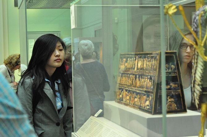 Resultado de imagen de Estandarte de Ur, Museo Británico