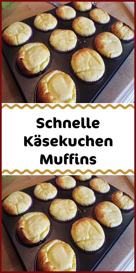 Schnelle Käsekuchen Muffins