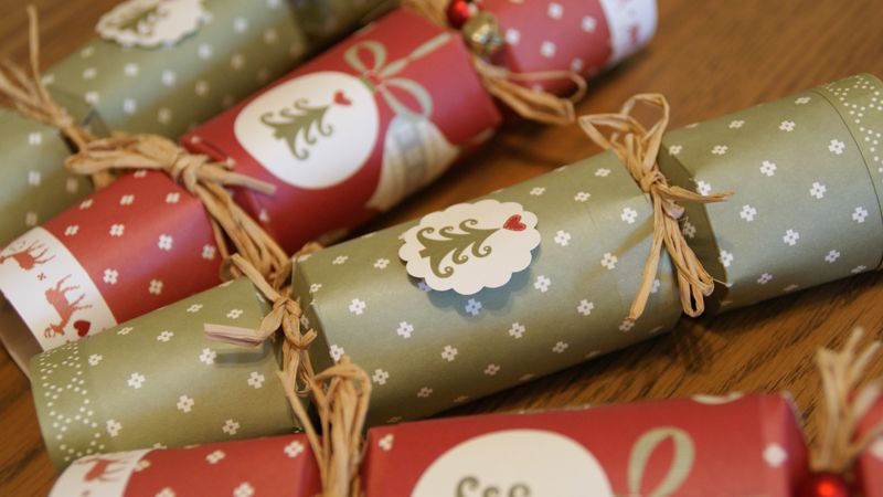Christmas dinner isnt the same without the traditional pulling of christmas dinner isnt the same without the traditional pulling of the crackers around the table these crackers are easy to make and can be filled and solutioingenieria Images
