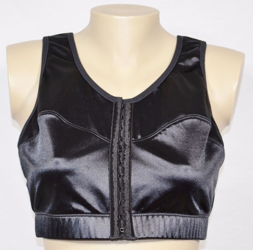 ENELL Black High Impact Sports Bra Size 3 Style NL100 Front Closure ...