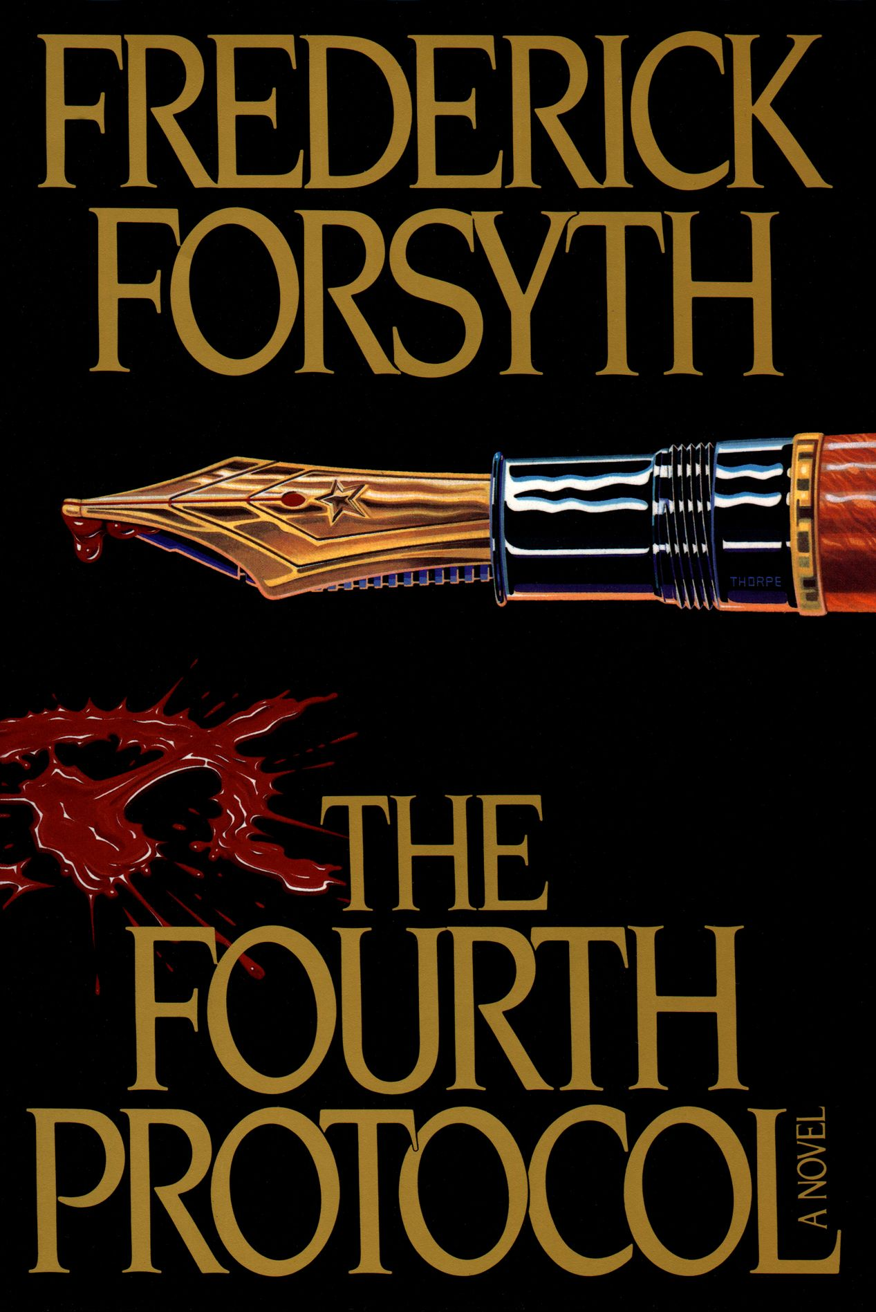 Cover of the 1984 viking hardcover first edition of the