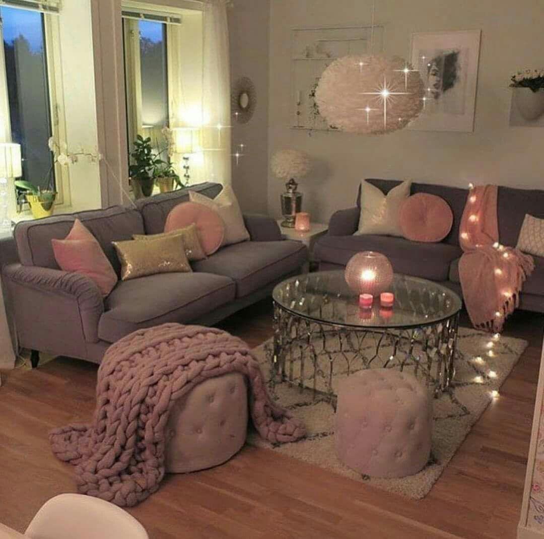 chaleureux idee deco petit salon cosy