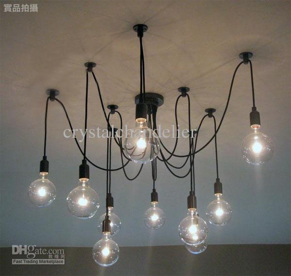Buy Cheap Hot Selling Modern Lamp 10 Lights Edison Light Bulb Chandelier Aslo For With Light Bulb Chandelier Pendant Ceiling Lamp Edison Light Bulb Chandelier