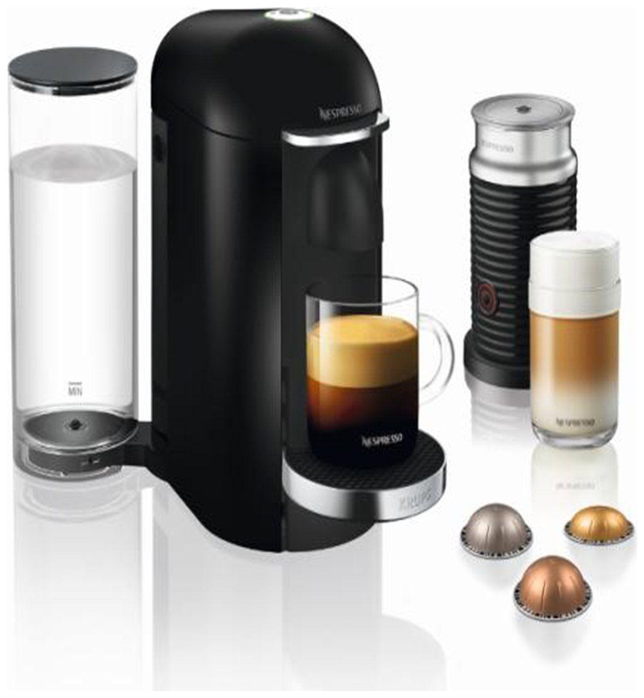 Nespresso Krups Vertuo Plus Pod Coffee Machine Bundle Blk In 2020 Coffee And Espresso Maker Espresso Maker Best Coffee Maker