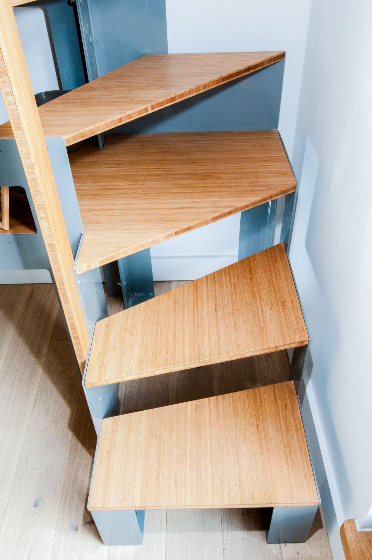 Escalier Sur Mesure Libro De Joa Rangement Livre Meuble Tv Sur Mesure Escalier
