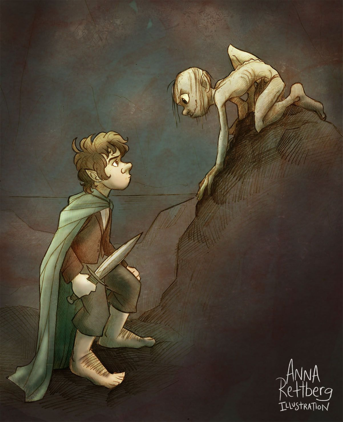 just read this part Middle earth, The hobbit, Hobbit art