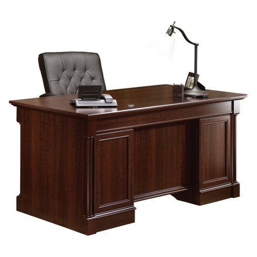 Sauder Palladia Executive Desk Select Cherry Office Table Design Executive Desk Commercial Office Furniture