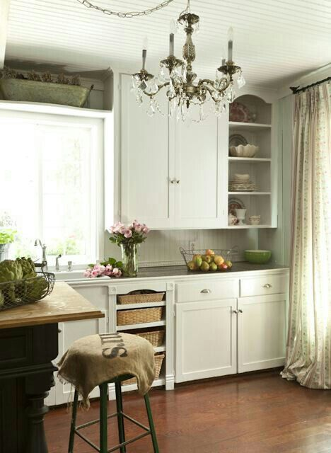 Best French Country Cottage Shabby Chic Beautiful Kitchen 400 x 300