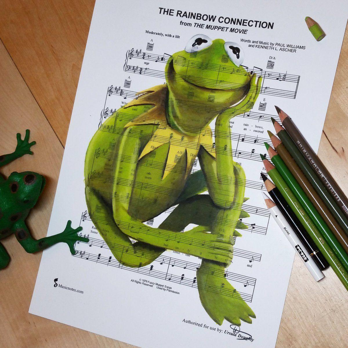 1 Twitter Rainbow Connection Disney Concept Art The Muppet Movie